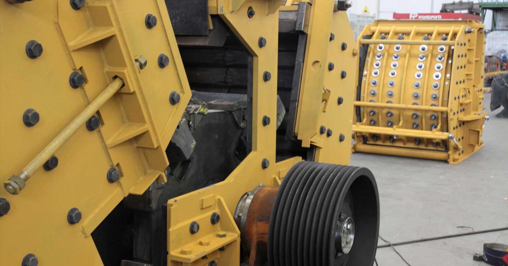 Frantoparts: Machine Constructor for crushing, screening and recycling